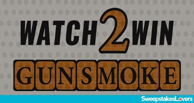 INSP.com Gunsmoke Watch 2 Win Sweepstakes 2021