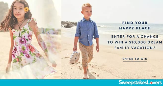 Janie and Jack Summer Family Vacation Sweepstakes 2021