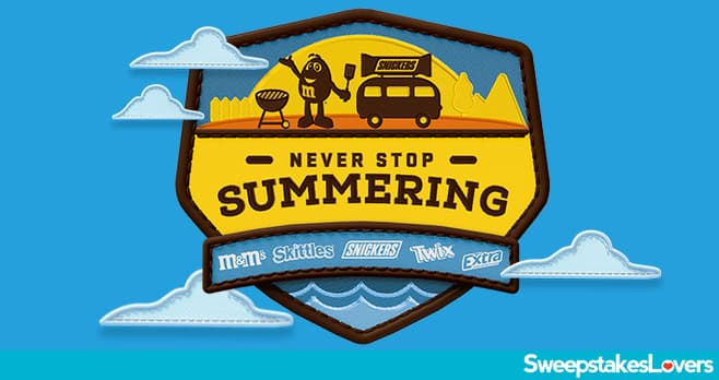Never Stop Summering Sweepstakes 2021