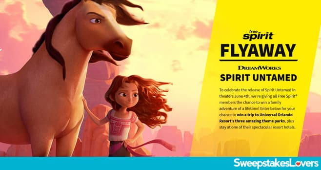 Free Spirit Untamed Flyaway Sweepstakes 2021