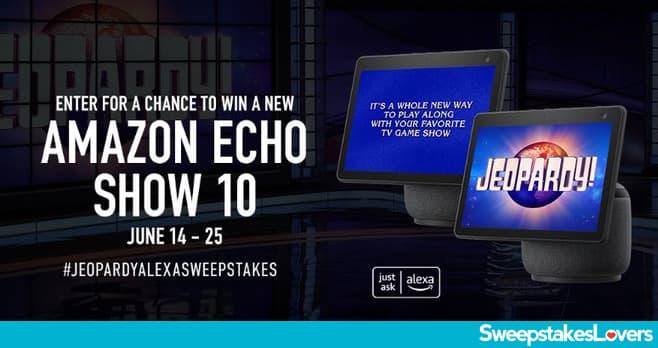 Jeopardy Alexa Sweepstakes 2021