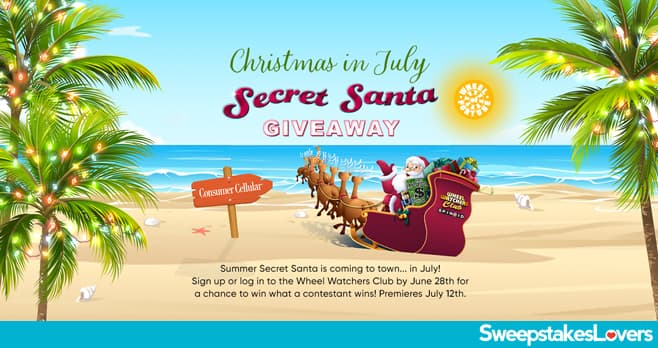 Wheel Of Fortune Secret Santa Sweepstakes 2021