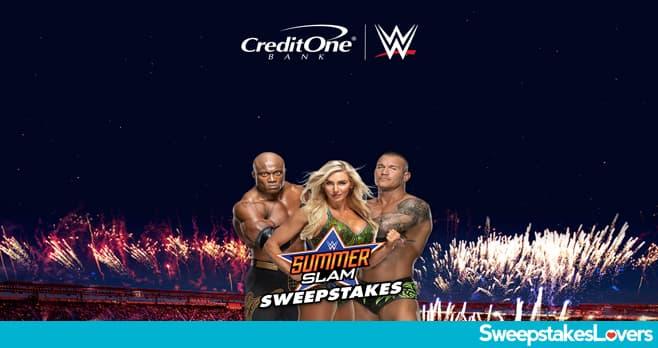 Credit One Bank WWE SummerSlam Sweepstakes 2021
