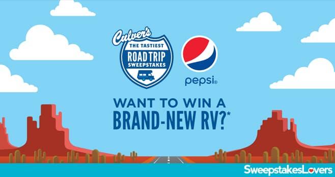 Culver's Tastiest Road Trip Sweepstakes & Instant Win Game 2021