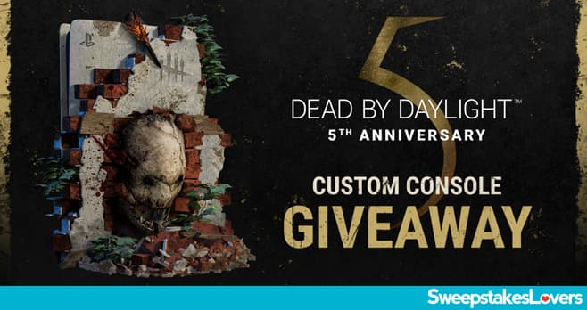 Dead by Daylight Custom PS5 Sweepstakes 2021