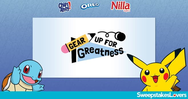 Pokémon Gear Up For Greatness Sweepstakes & Instant Win Game 2021