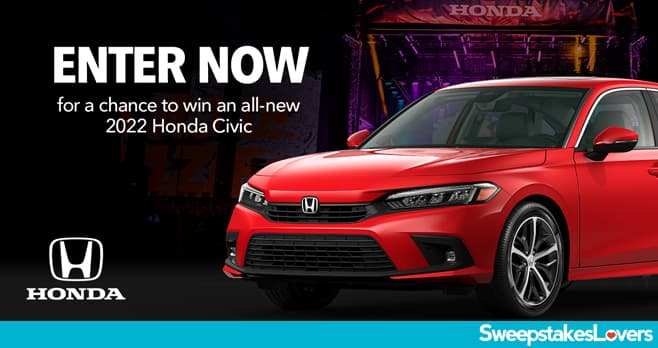 Road To Honda Stage Sweepstakes 2021