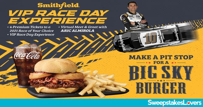 Smithfield VIP Race Day Experience Sweepstakes 2021