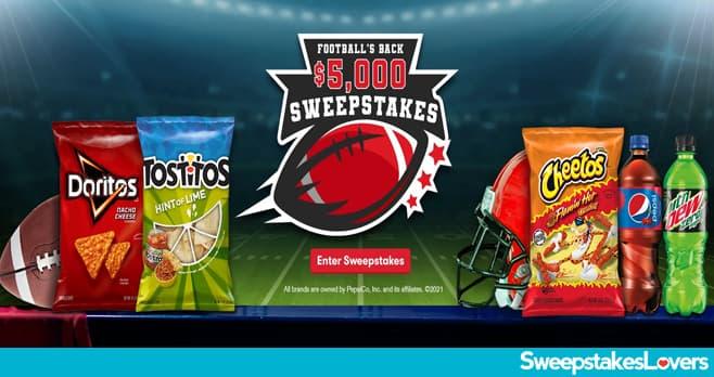Tasty Rewards Football's Back $5,000 Sweepstakes 2021
