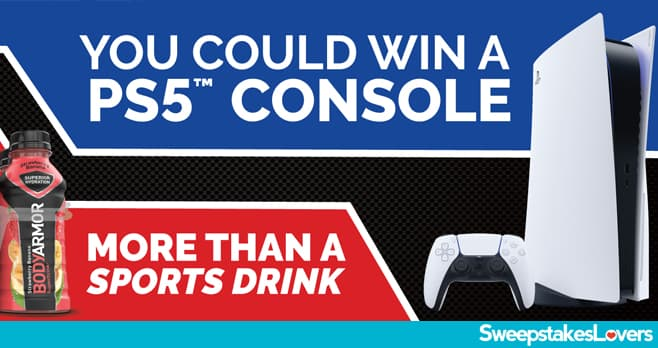BODYARMOR Back-To-School PlayStation5 Sweepstakes 2021