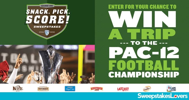 Campbell's Snack Pick Score Sweepstakes 2021