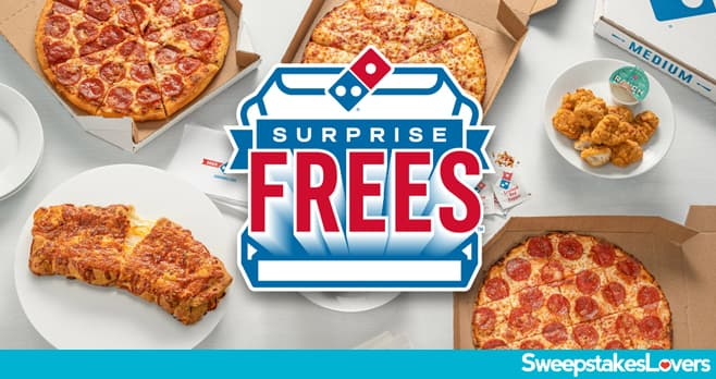 Domino's Surprise Frees Giveaway 2021