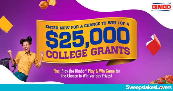 Bimbo College Grant Sweepstakes 2021