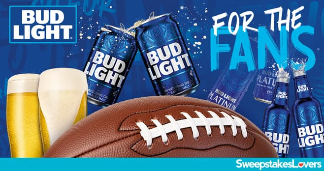 Bud Light Ultimate Football Tailgate Sweepstakes 2021