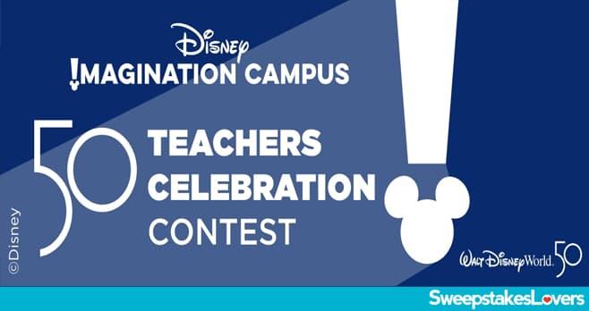 Disney 50 Teachers Contest 2021