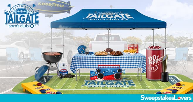 Sam's Club Ultimate Tailgate Sweepstakes 2021