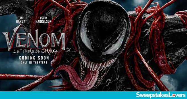 Sony Rewards Venom Let There Be Carnage Sweepstakes 2021