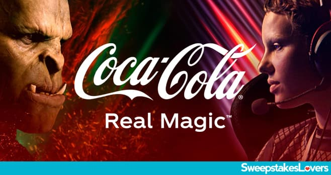 Coca-Cola Real Magic Instant Win Game & Sweepstakes 2021