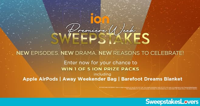 ION Television Premiere Week Sweepstakes 2021