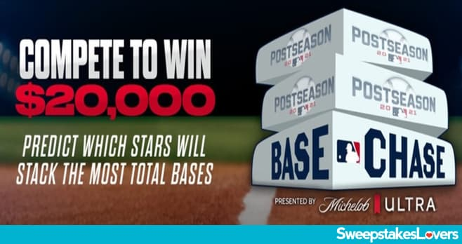 MLB Base Chase Contest 2021
