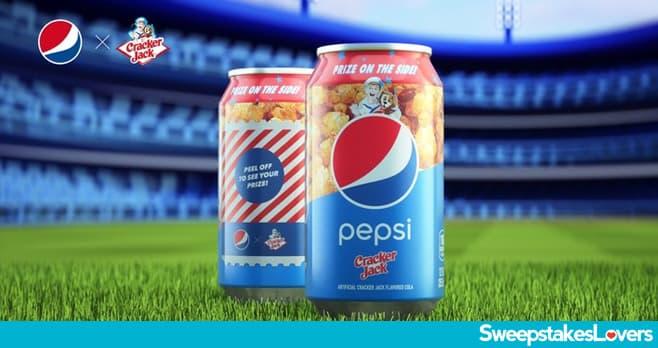 Pepsi x Cracker Jack #PepsiSingToScore Sweepstakes 2021
